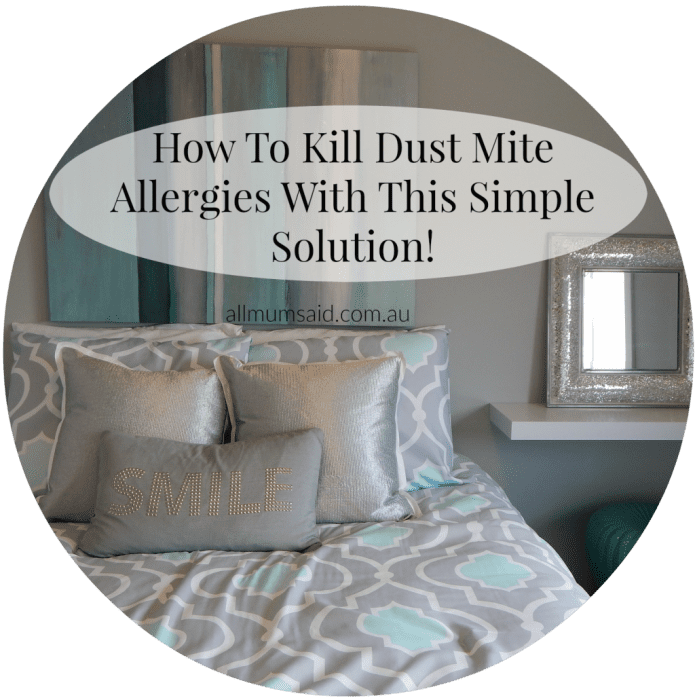 How To Kill Dust Mite Allergies With This Simple Solution