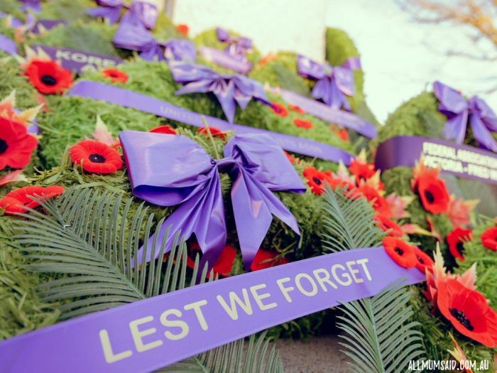 Lest we forget - ANZAC day wreath