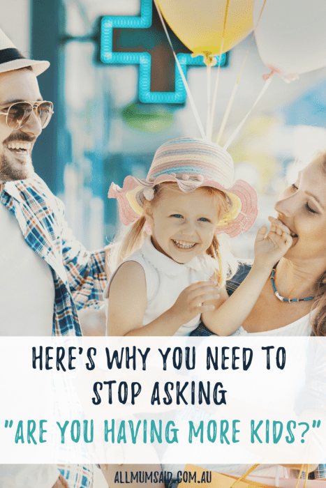 Are you having more #kids? Here's why you should stop asking people! #pregnancy #miscarriage #relationships #women #momlife #mumlife