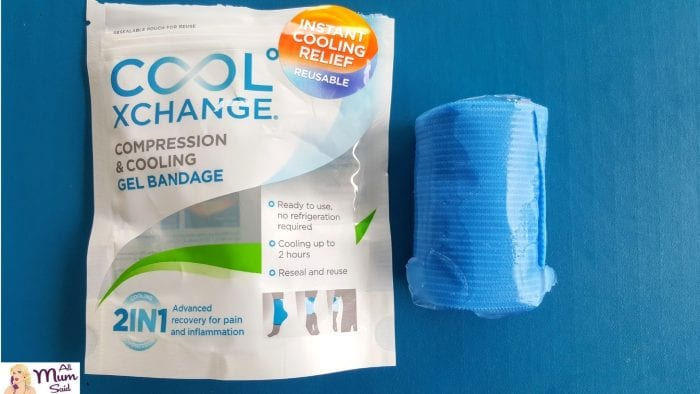 cool xchange compression bandage out of packet