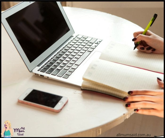 Woman working at laptop | easy ways to save money