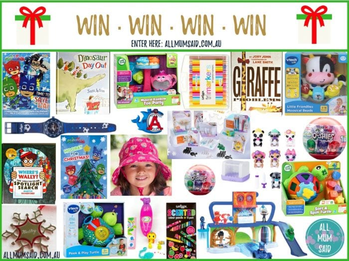 All Mum Said free competitions Mega Christmas giveaway