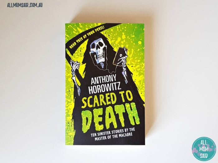 Scared to Death book review | mysterious books for kids