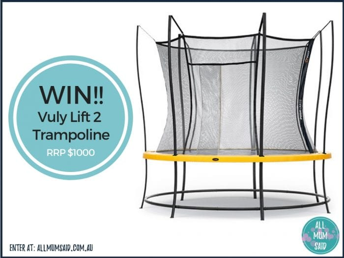Vuly trampoline lift 2 giveaway