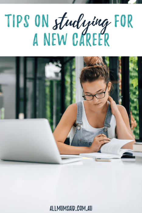 Thinking about studying for a new career but not sure where to start? CLICK HERE for tips and ideas that will put you on the right track! #adulteducation #education #parenting #family #mumlife #momlife #career