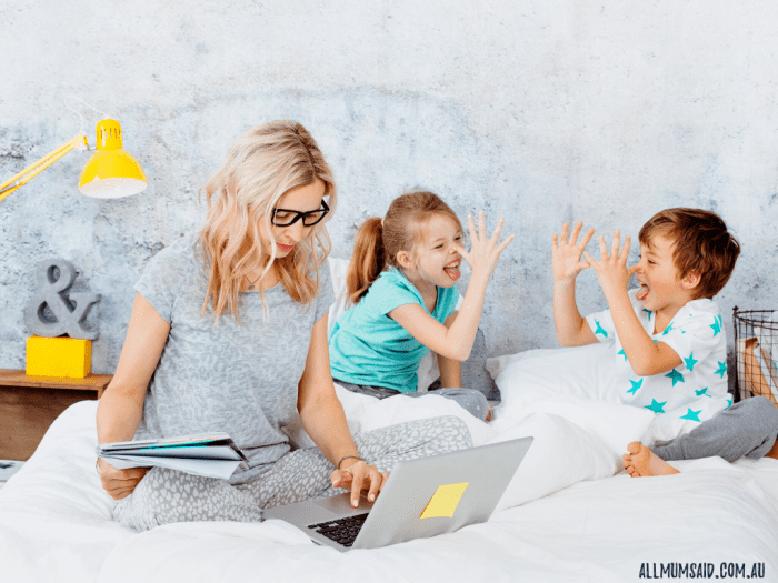 time management tips for working mums