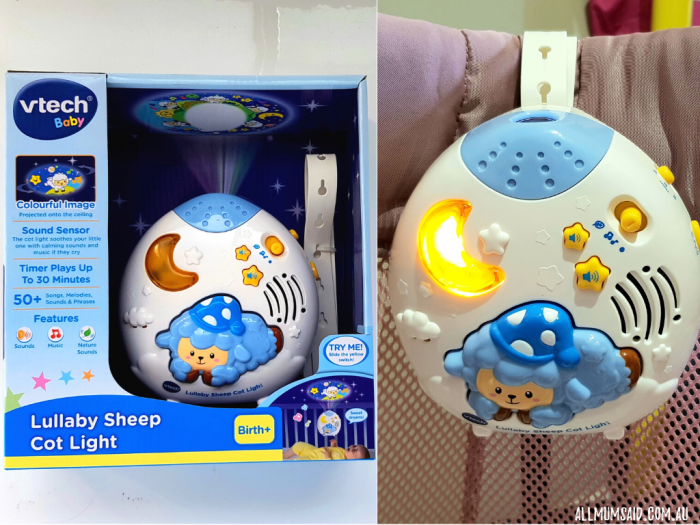 VTech baby Lullaby Sheep Cot light review