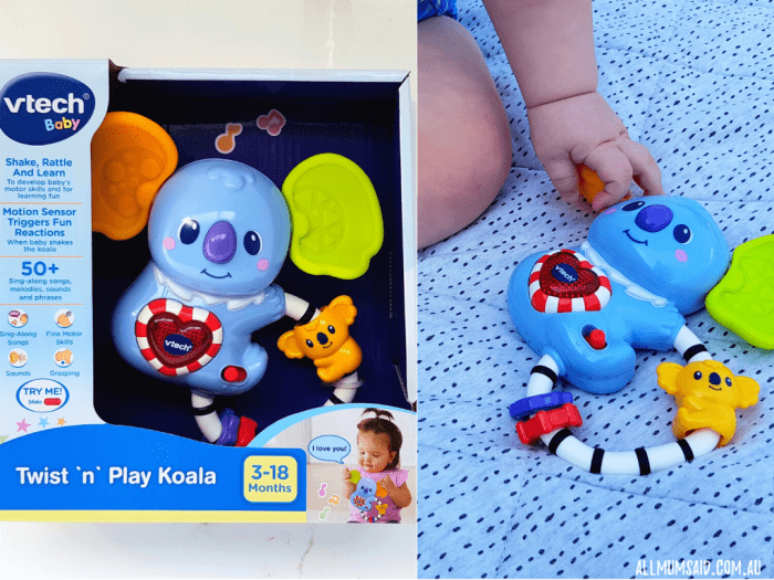VTech baby twist 'n' play koala rattle review