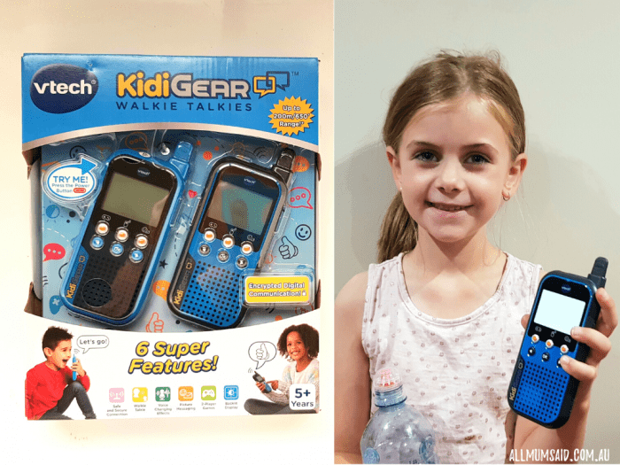 VTech walkie talkies review