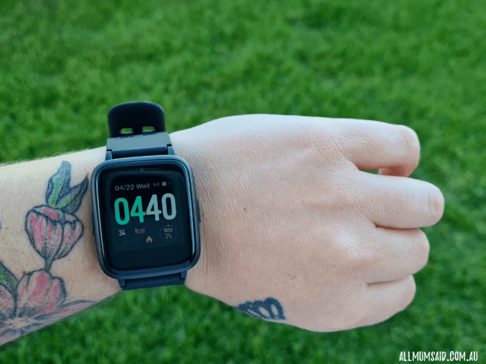 Laser smart watch fitness activity tracker review
