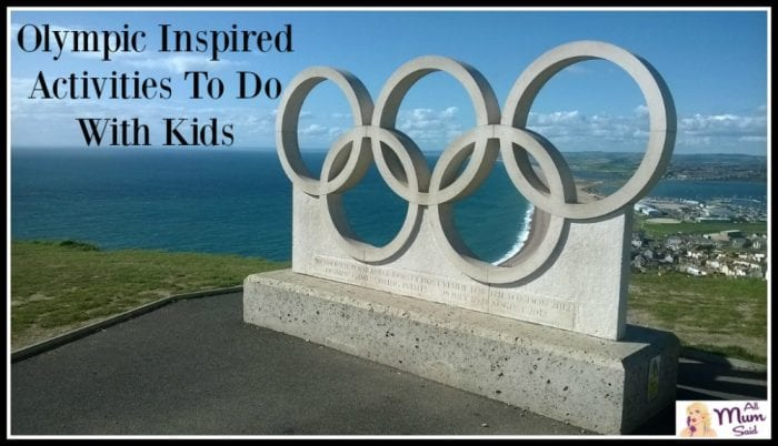 Olympic Inspired Activities To Do With Kids