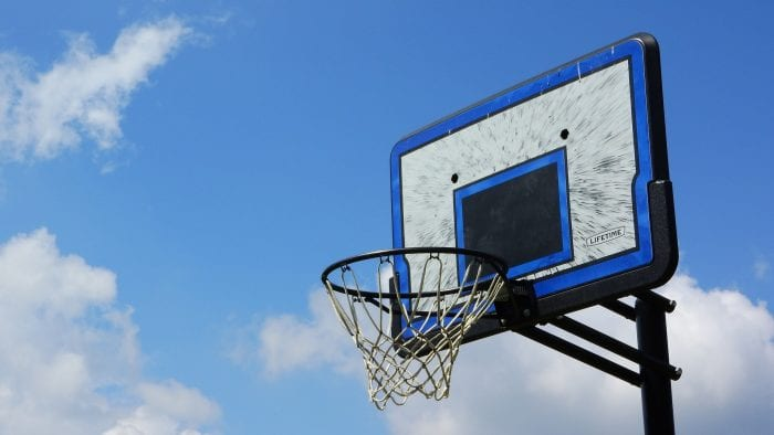 Olympic Inspired Activities To Do With Kids | basketball hoop