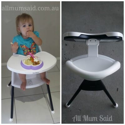 BabyBjorn High Chair in action