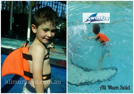 SwimFin water safety for kids