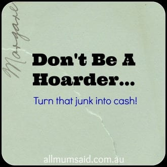Don't be a hoarder
