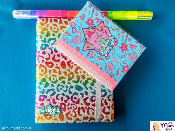 Smiggle back to school notebooks