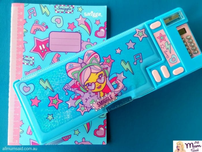 Smiggle back to school pencil case