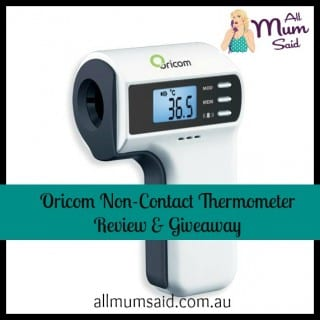 Oricom non-contact thermometer