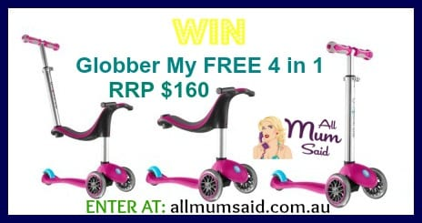 Globber scooter 4 in 1