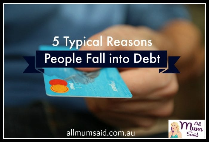 reasons people fall into debt
