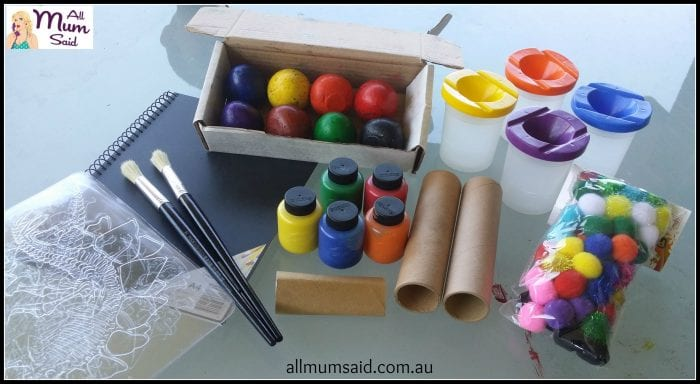 Arts and Crafts Benefit | All Mum Said
