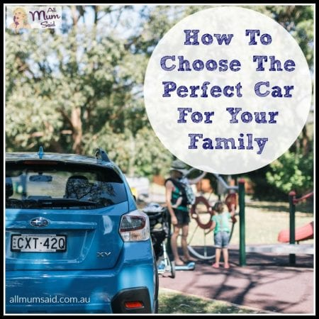 How To Choose The Perfect Car