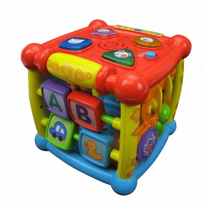 Vtech toys review - Turn & Learn Cube | All Mum Said