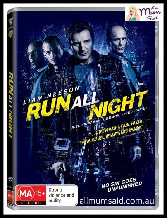 Father's Day giveaway 2015 | Run All Night DVD | All Mum Said