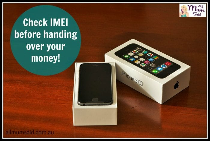 buying a used phone | All Mum Said | Check IMEI | Tip