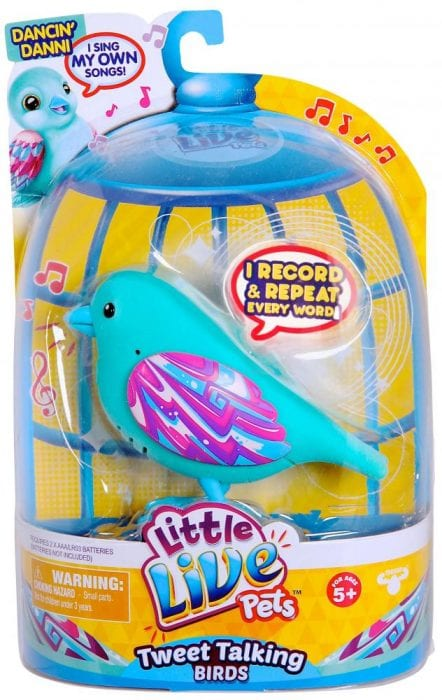 christmas giveaway 2015 little live pets bird