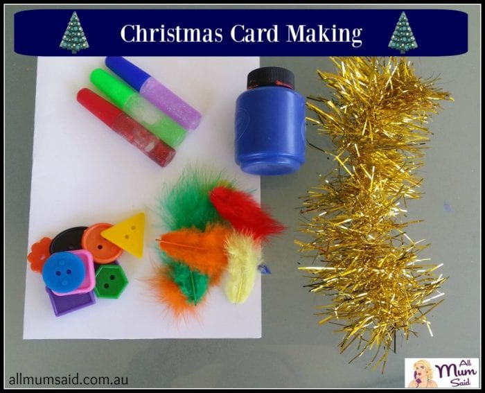 christmas craft ideas for kids card making