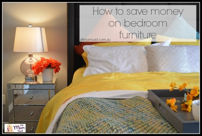 save money on bedroom furniture