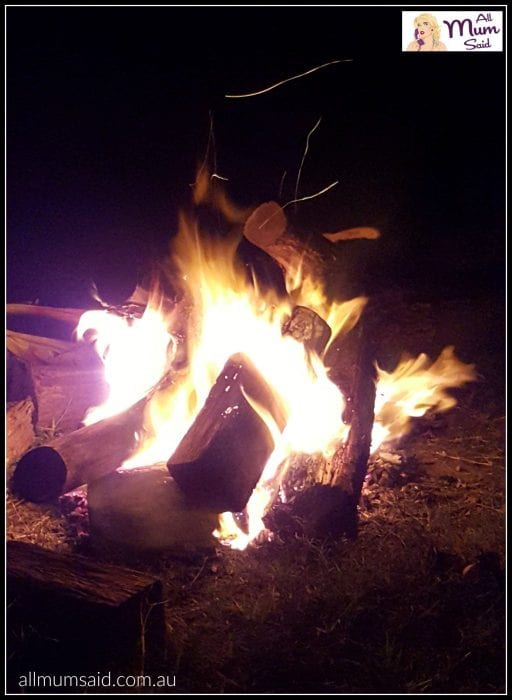 camp fire camping