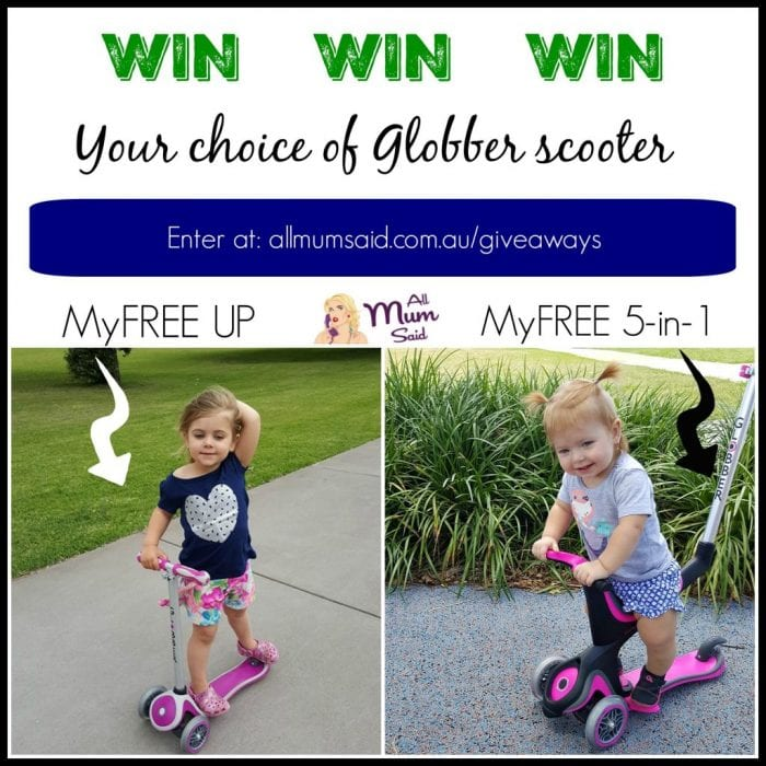 Win Globber Scooter