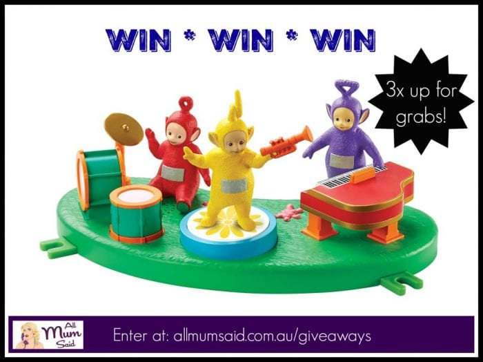 teletubbies toys music day playset giveaway