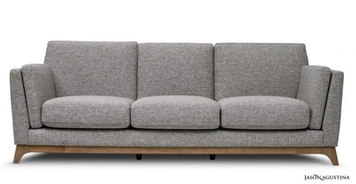 Jason Agustina Mid Century Ceni Sofa | affordable interior decorating