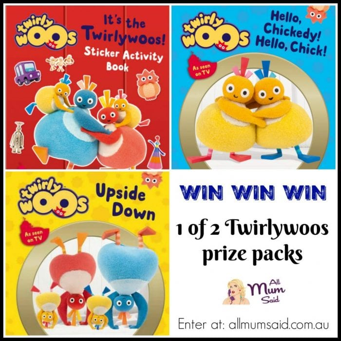 Win Twirlywoos toys, books giveaway