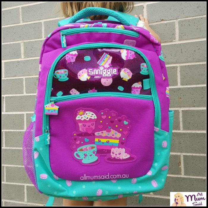 back to school smiggle backpack