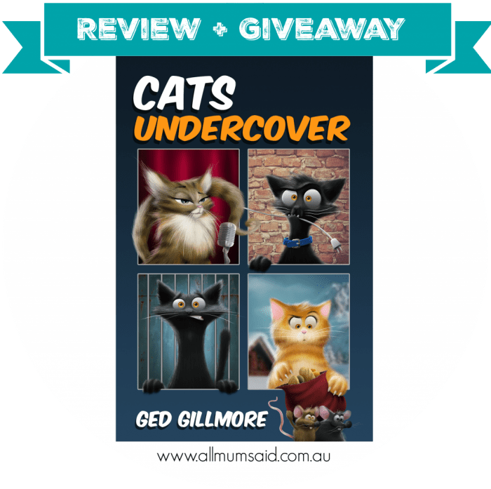 Ged Gillmore Cats Undercover book review