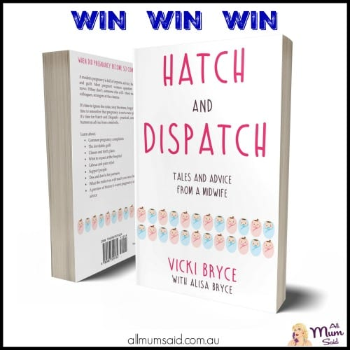 hatch and dispatch - Advice From a Midwife book giveaway