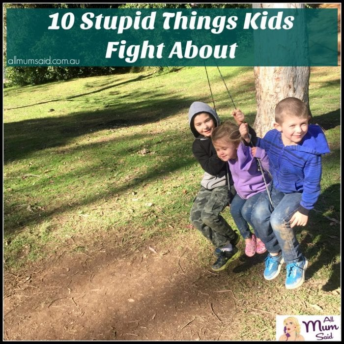 10 Fight 10: 10 Stupid Things Kids Fight About