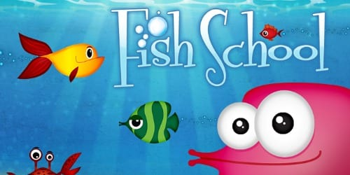 top educational apps for kids - fish school