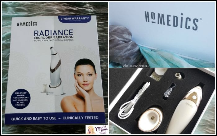 Homedics Radiance Microdermabrasion review