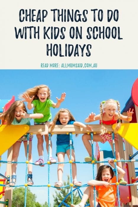 free or cheap things to do with kids for school holidays