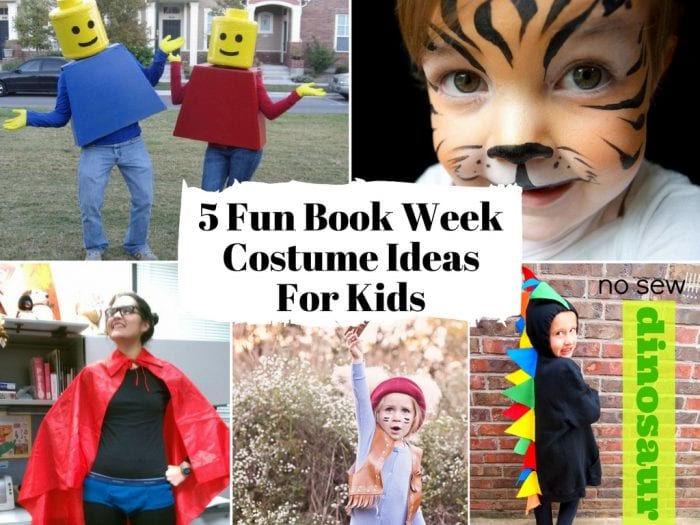 5 easy Book Week Costume Ideas For Kids