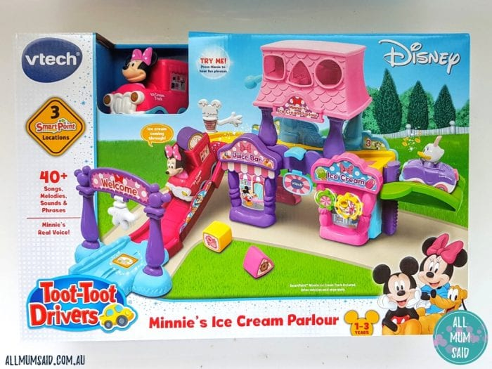 Vtech Toot-toot drivers Minnie's Ice Cream Parlour