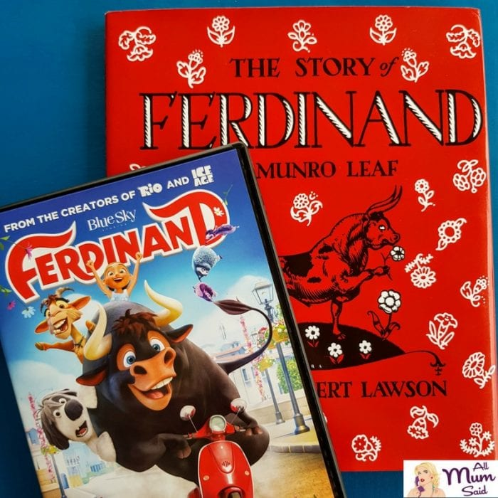 Ferdinand dvd book