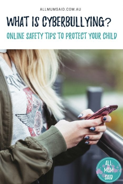 AMS - What is Cyberbullying_ Online Safety Tips To Protect Your Child | #Parenting #MummyBlogger #Cyberbullying