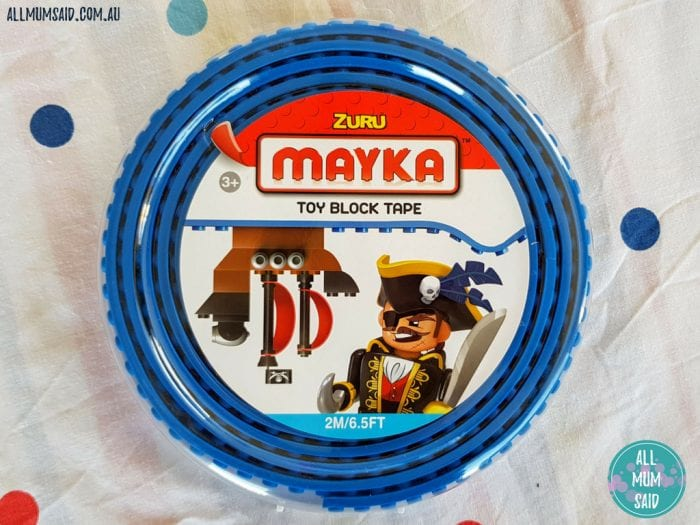 ZURU Mayka toy block tape lego tape