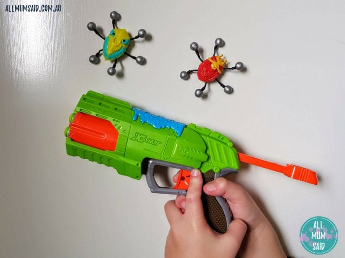 ZURU X-Shot bug attack rapid fire review